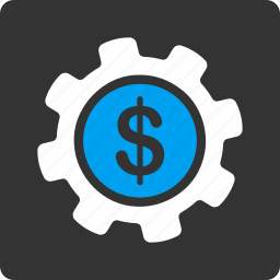 business, financial, gear, money, payment options, settings, tools icon