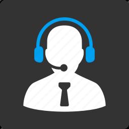 headset, office, operator, reception, secretary, service, support icon