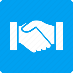 acquisition, agreement, business contacts, communication, contract, handshake, support icon