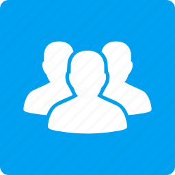 account group, customers, people, staff, team, user group, users icon