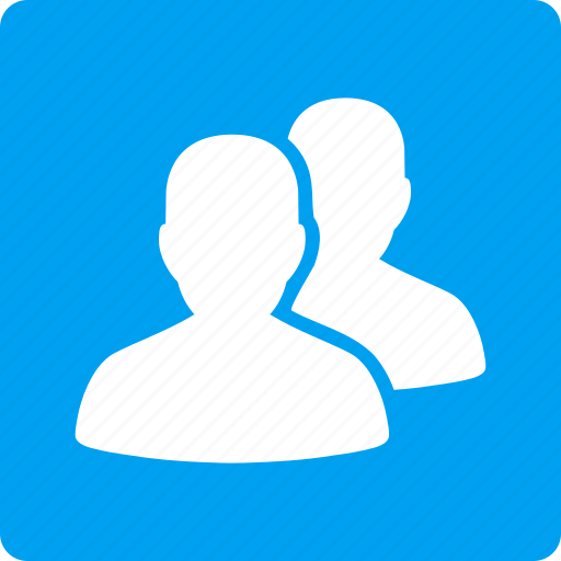 accounts, company, conference, customers, people, social network, users icon