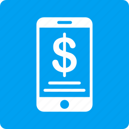 bank, cellphone, finance, mobile wallet, money, phone, purse icon