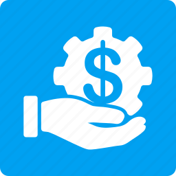 business, financial, hand, income, money, pay, payment service icon