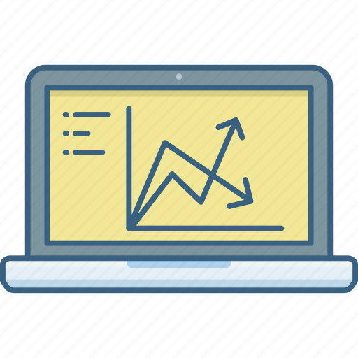 analysis, business, chart, diagram, graph, growth, report icon