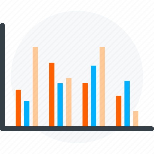 analytics, graph, sales growth, statistics icon icon