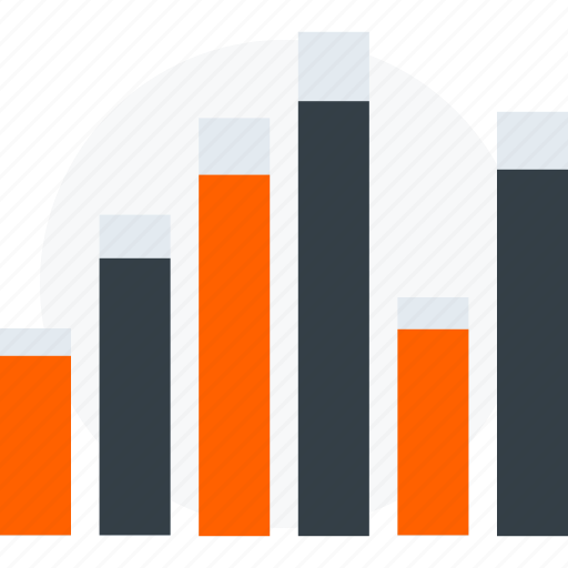 analysis, business, down, graph, infographic, statistic, up icon icon