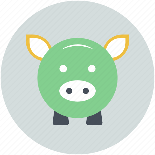 money bank, money box, penny bank, piggy bank, saving icon