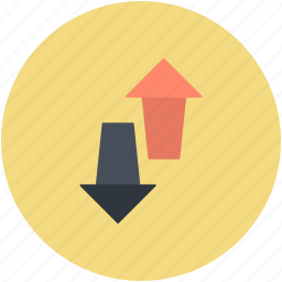 arrows, down arrow, download, up arrow, upload icon