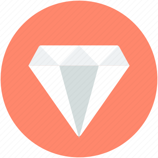 diamond, event, gemstone, jewel, precious stone icon