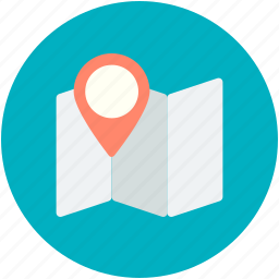 gps, map geography, mapping, navigation, topology icon