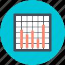 business chart, business presentation, presentation, projection screen, statistics icon