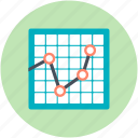 business chart, business presentation, presentation, projection screen, statistics icon
