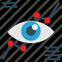 graph, eye, analysis, vision, marketing