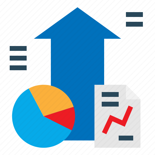 Analytics, dashboard, presentation, chart, graph icon