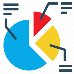 business, chart, dashboard, graph, percentage, pie icon