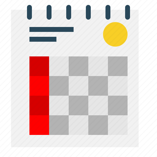 Calendar, daybook, event, schedule, timetable icon - Download on Iconfinder