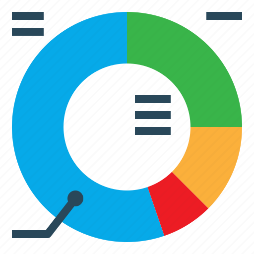 Chart, circle, diagram, donut, graphic icon - Download on Iconfinder