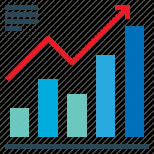Increase, graph icon