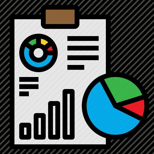 analysis, analytics, chart, clipboard, graph icon