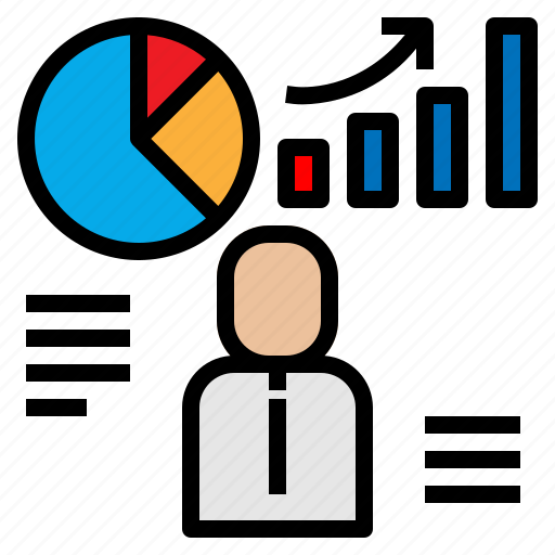 Analyst, business, chart, graph, presentation icon - Download on Iconfinder