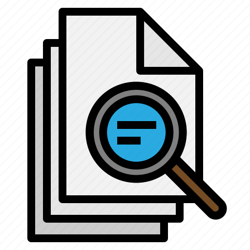analytics, bar, chart, graph, magnifier, search, statistics icon