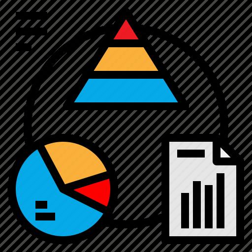 chart, circle, diagram, donut, graphic icon