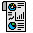 dashboard, graph, infographic, mobile, statistics icon