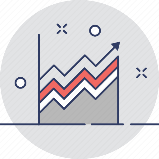 chart, forecasting, graph, growth, stats icon