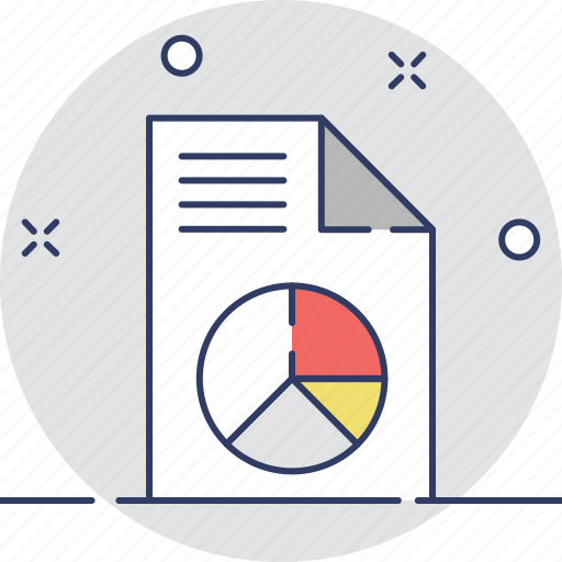 analysis, graph report, pie chart, report, statistics icon