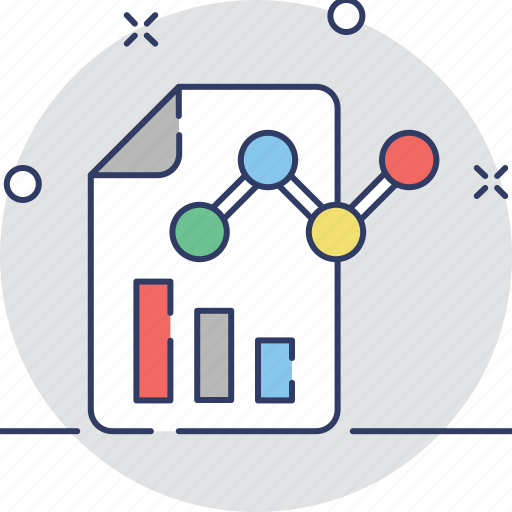 business report, chart, graphic, report, statistics icon