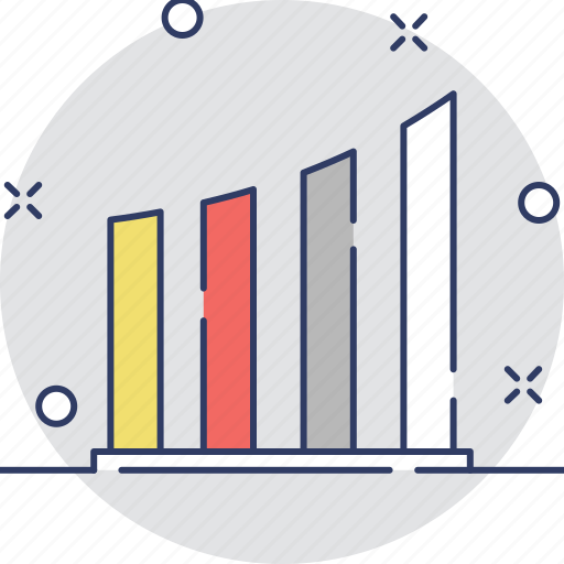 business graph, chart, forecasting, graphic, growth icon