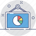 analytics, chart, dashboard, graph, presentation icon