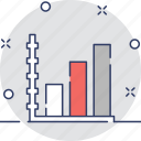 bar, bar chart, chart, growth, stats icon