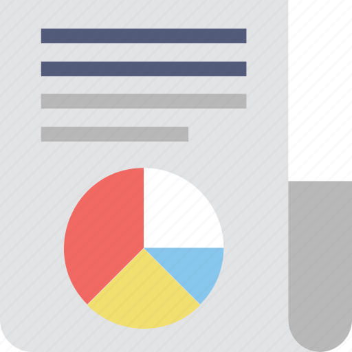 analysis, graphic report, pie chart, report, statistics icon