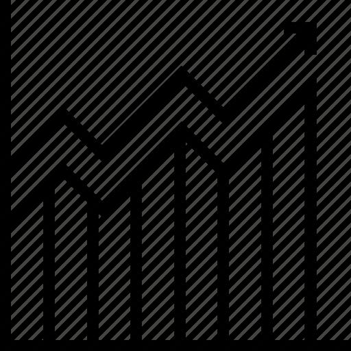 bar, bar chart, chart, growth, stats icon