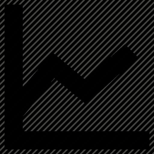 analysis, chart, graphic, line chart, stats icon
