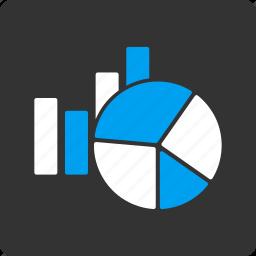 analysis, analytics, charts, diagram, graph, graphs, reports icon