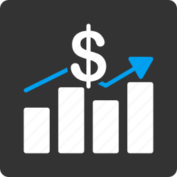 analysis, charts, currency, diagram, progress, reports, sales chart icon