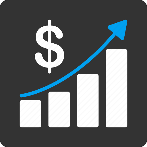 arrow, business, chart, graph, report, sales growth, success icon