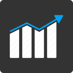 chart, diagram, graph, growth, statistics, stats, trend icon