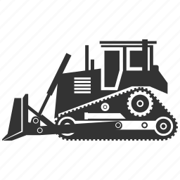build, building, bulldozer, construction, destroy, industry, tractor icon