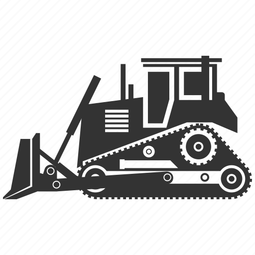 Building, bulldozer, construction, industry, tractor, build, destroy icon - Download on Iconfinder