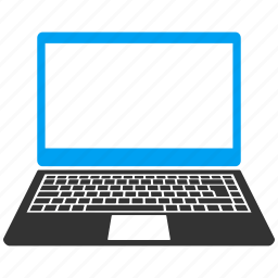 computer, desktop, distance work, laptop, notebook, pc, software icon