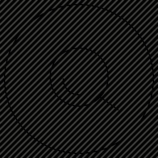 eye, grid, magnifier, search, view, web icon