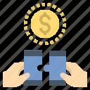 business, collaboration, corporation, partner, teamwork icon