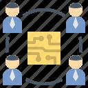 digital, partner, team, technology, workshop icon