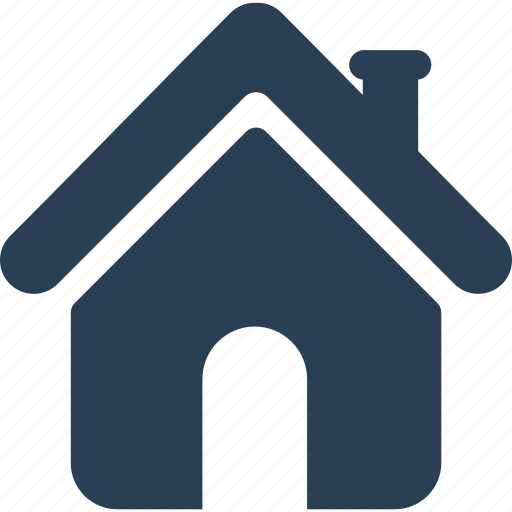 building, business, construction, home, house, office, real estate, return, shape icon