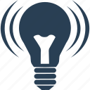 bulb, energy, flare, idea, illumination, light, lightbulb, lighting icon