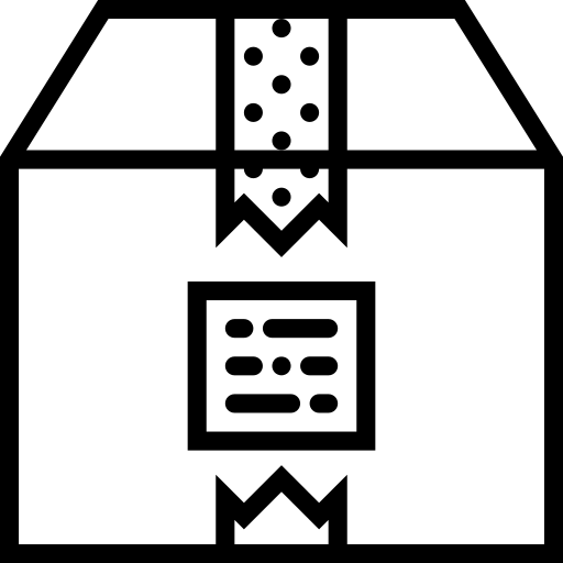box, business tools, gift, packing, parcel icon