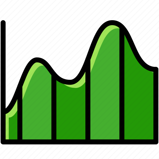 business, chart, exchange rate, graph icon
